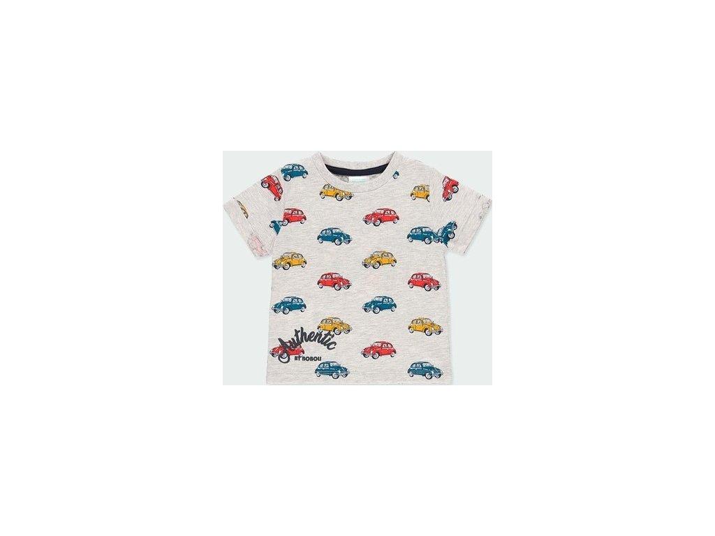 Chlapecké tričko s motivy aut Boboli