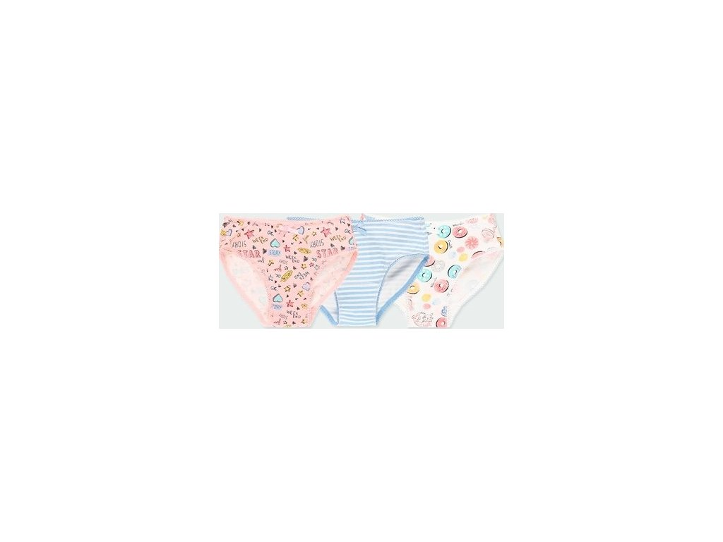 Balení 3 ks dívčích kalhotek BOBOLI