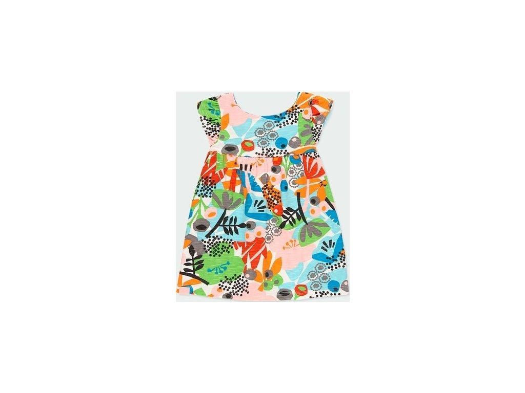 Barevné šaty pro holčičku Boboli