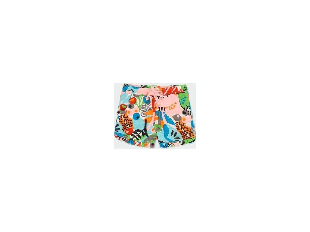 Dívčí barevné šortky Boboli
