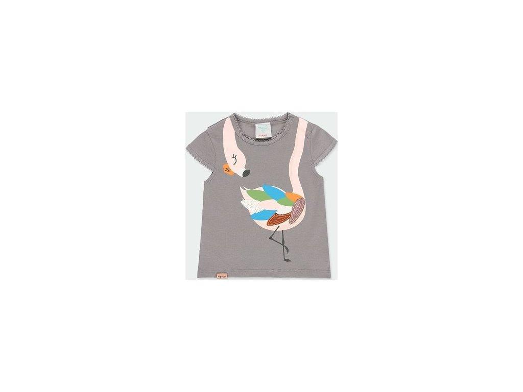 Tričko s plameňákem pro holčičku Boboli