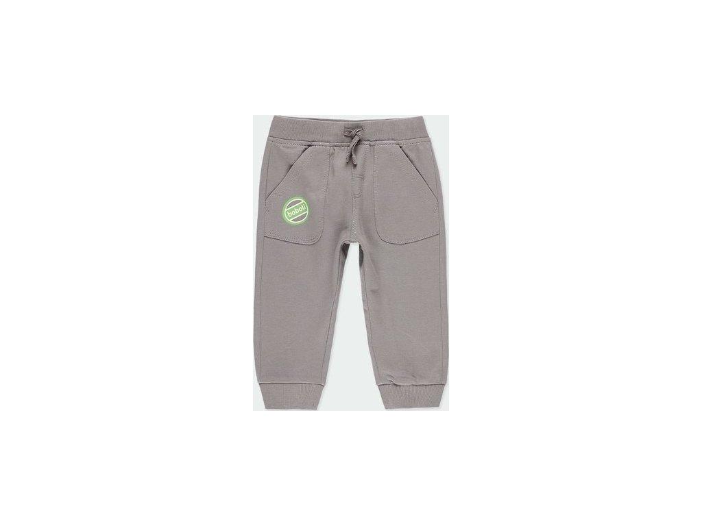 Šedé kalhoty pro chlapečka Boboli
