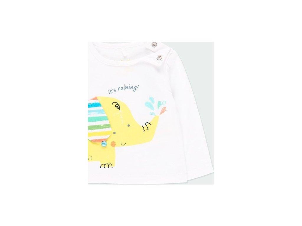 Tričko se slonem pro chlapečka Boboli