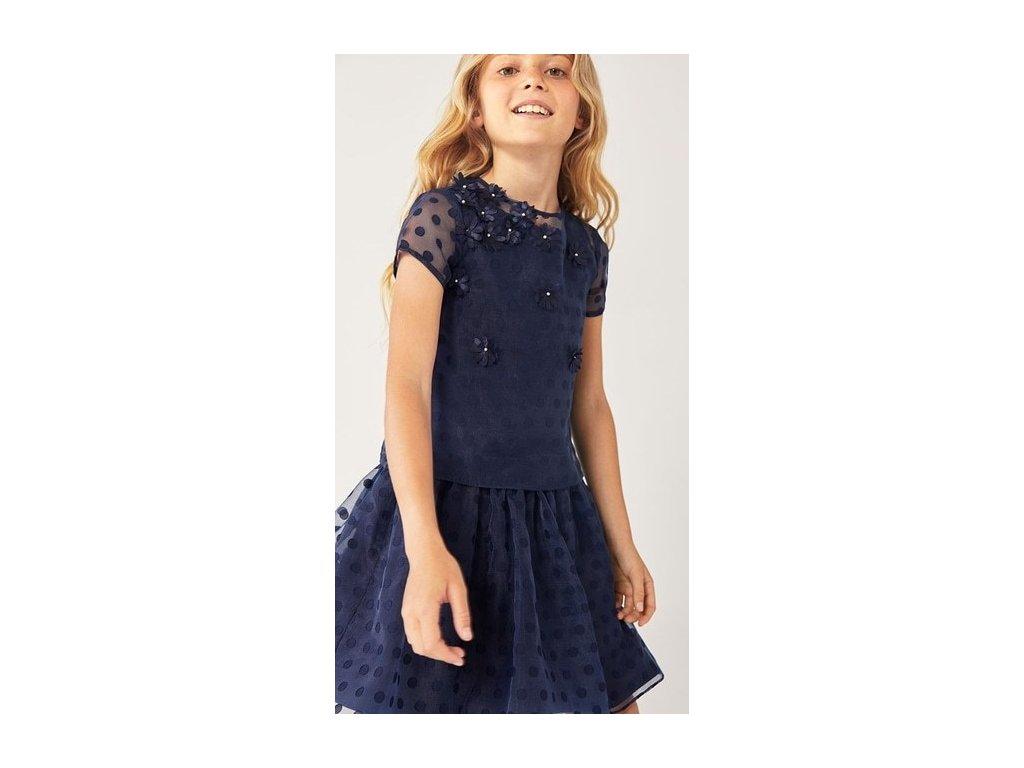 Modré šaty Boboli