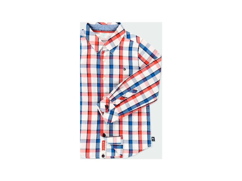 Kostkovaná košile pro chlapce Boboli