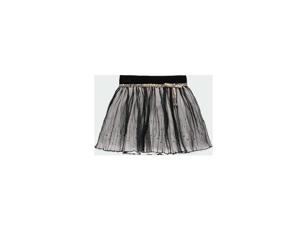 Dívčí skládaná tylová sukně Boboli