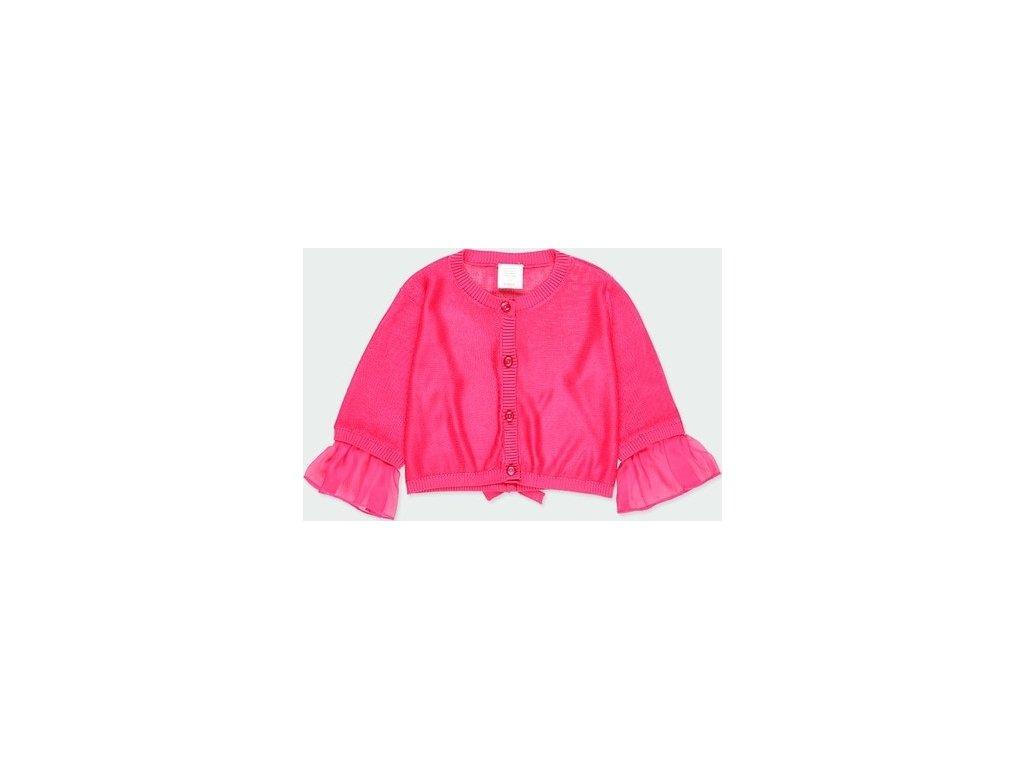 Dívčí růžový svetřík Boboli