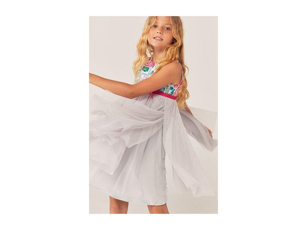 Dívčí tylové šaty Boboli