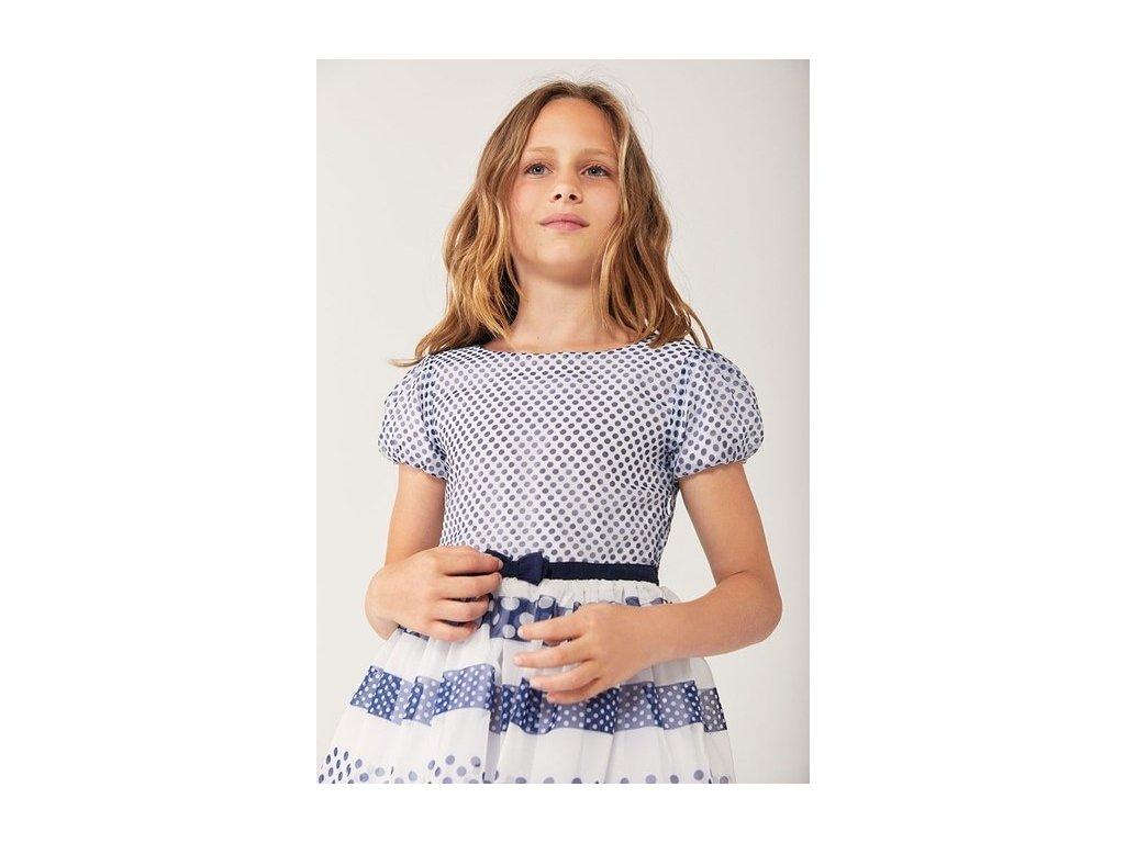 Dívčí vzorované šaty Boboli