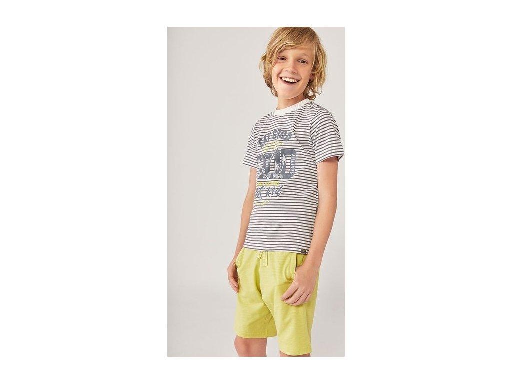 ORGANIC tričko pro chlapce Boboli
