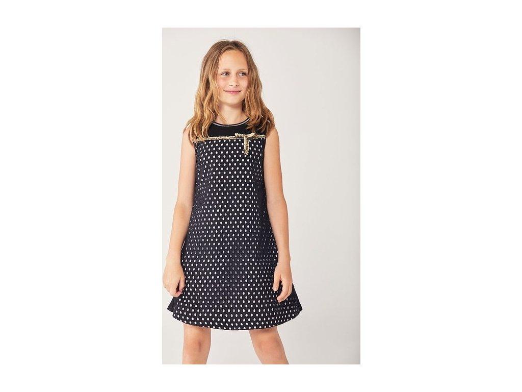 Dívčí stylové šaty Boboli