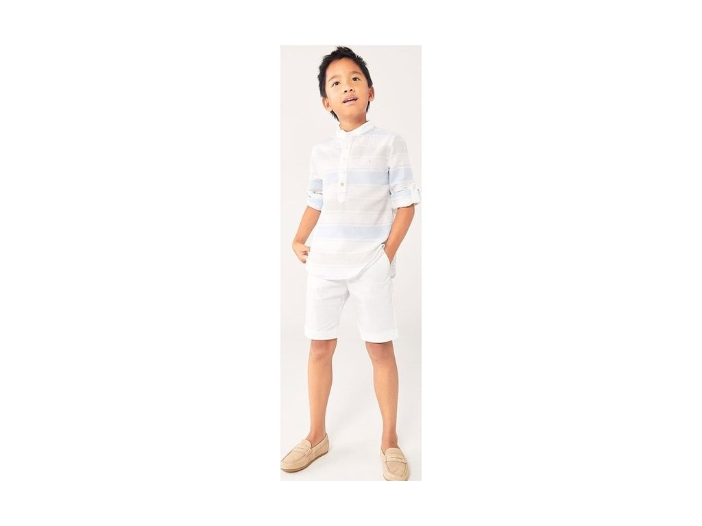 Chlapecké lněné tričko Boboli
