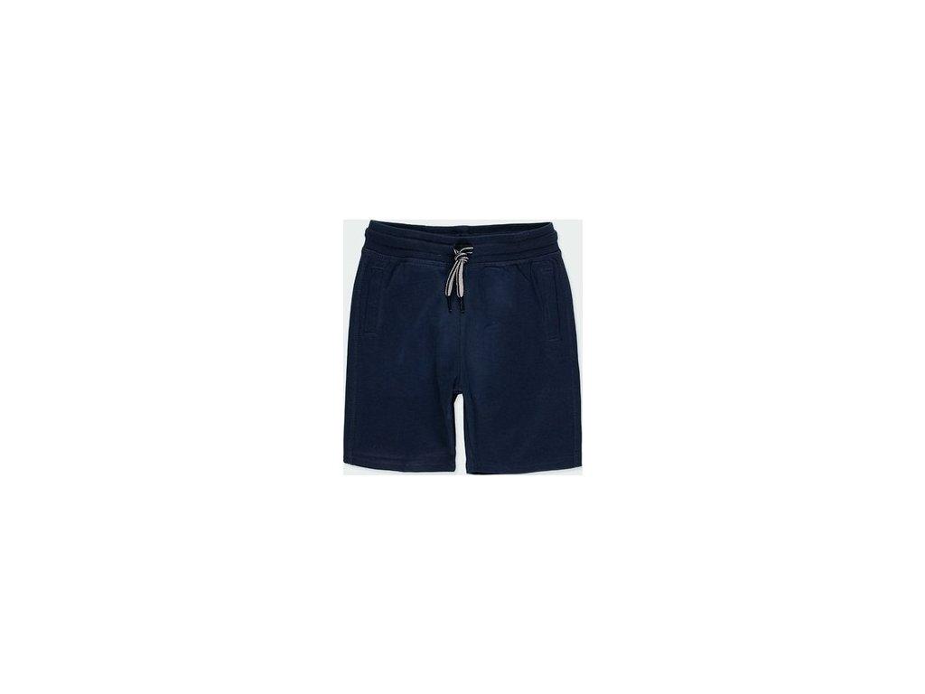 Tmavě modré teplákové šortky Boboli