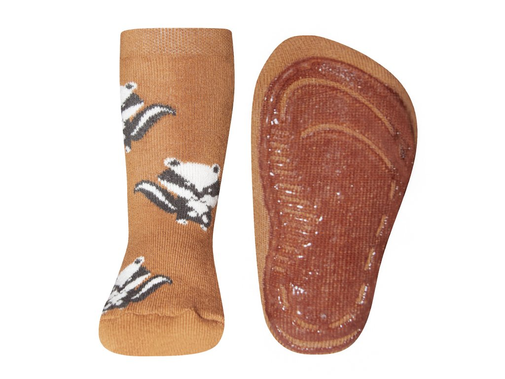 Protiskluzové ponožky veverky Ewers