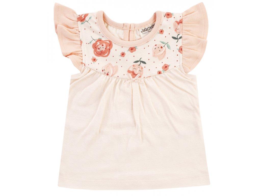 Květinové tričko