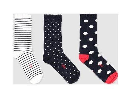 Balení ponožek pro dívky