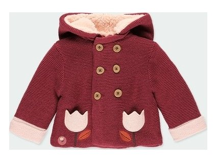Bunda s kapucí pro miminko BOBOLI