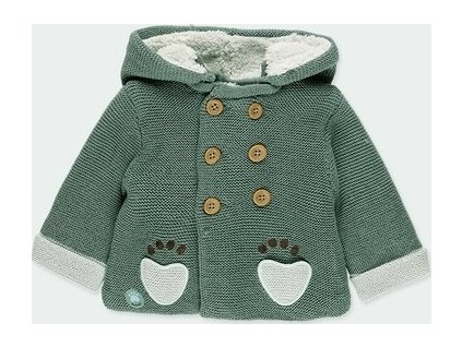 Pletená bunda s kapucí BOBOLI