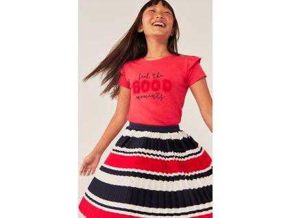 Tričko pro dívky s volány Boboli