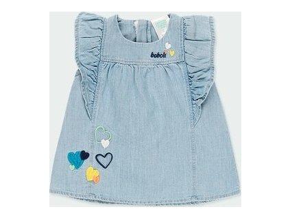 Džínové šaty Boboli