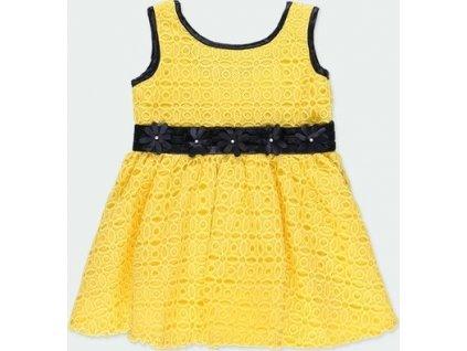 Žluté dívčí šaty Boboli