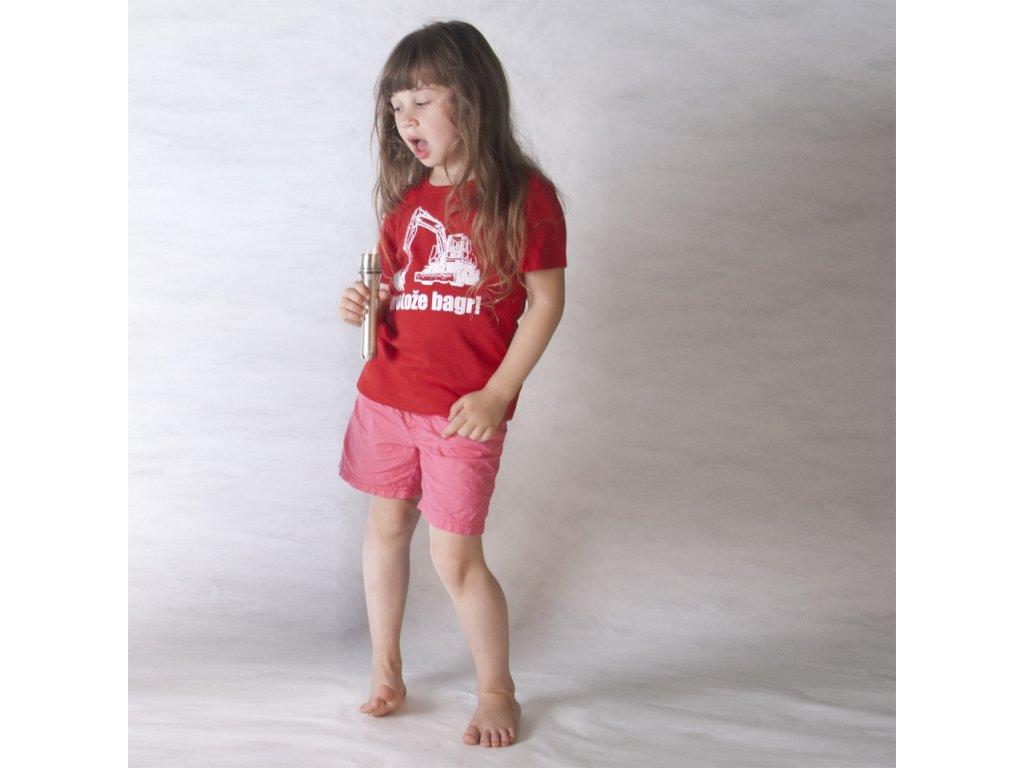 PROTOŽE BAGR (triko červené KR)