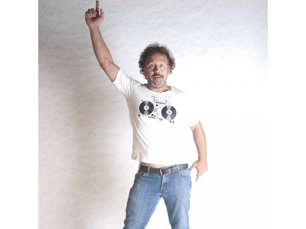 KOLO (triko pánské bílé KR)