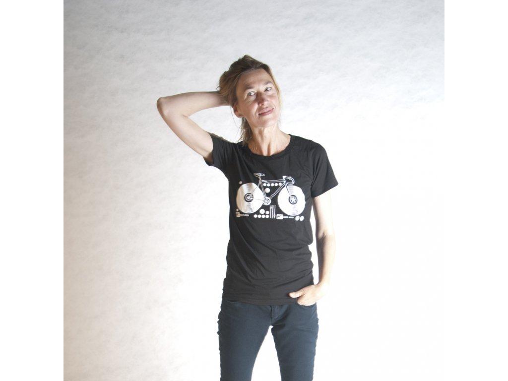 KOLO (triko dámské černé KR)