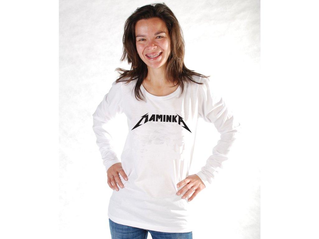 MAMINKA (triko dámské bílé)