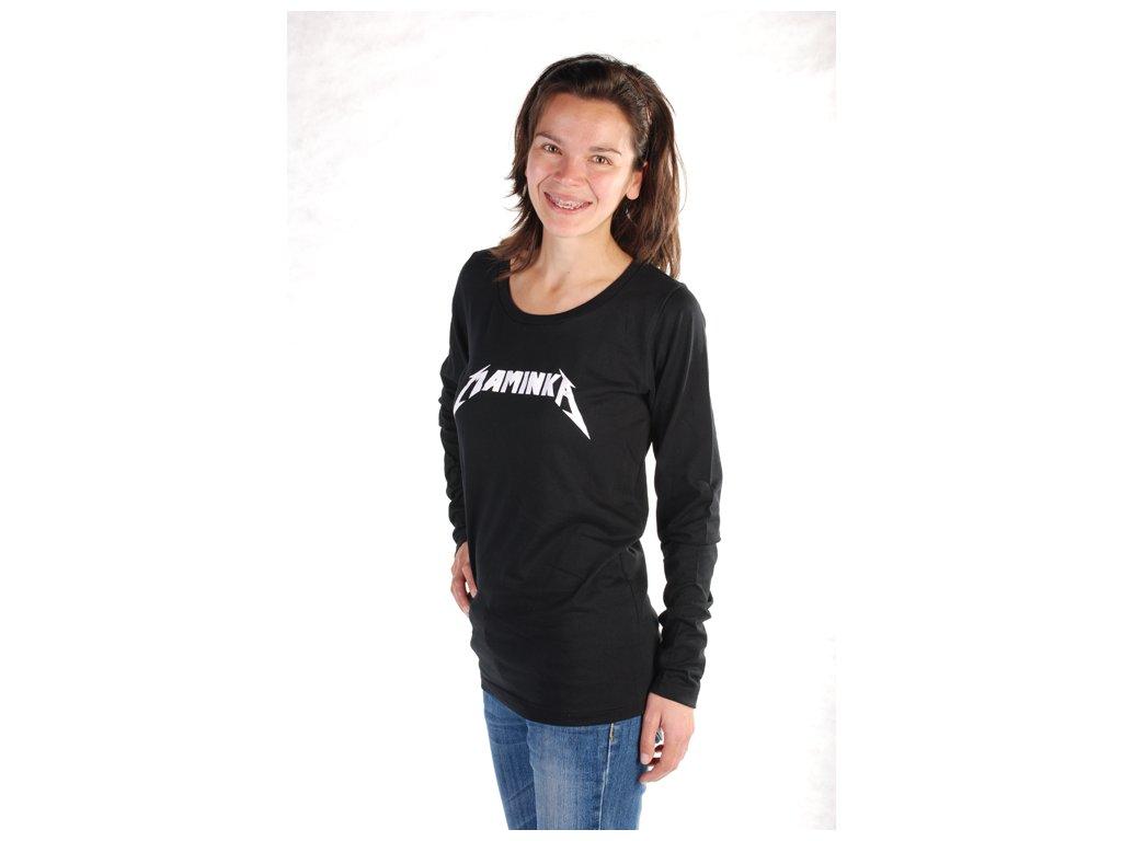 MAMINKA (triko dámské černé)