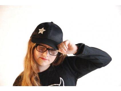 LITTLE ROCK STAR kšiltovka černá