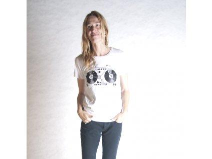 KOLO (triko dámské bílé KR)