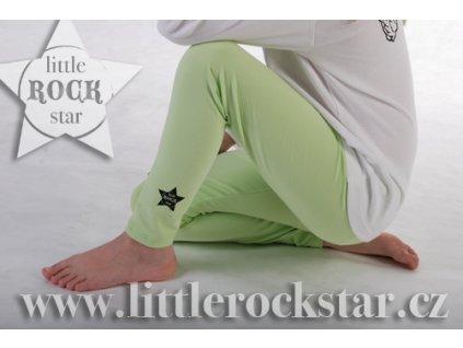 LITTLE ROCK STAR (legíny zelené)