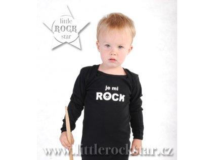 JE MI ROCK (body černé DR)