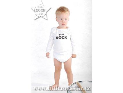 JE MI ROCK (body bílé DR)