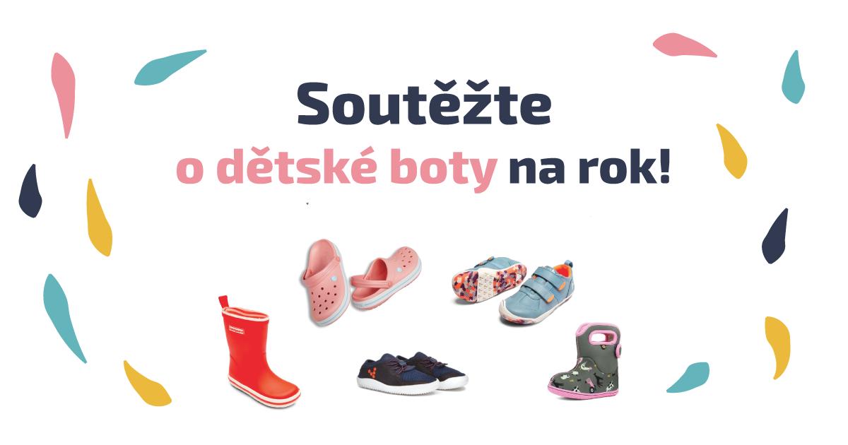 soutěž o dětské boty na rok