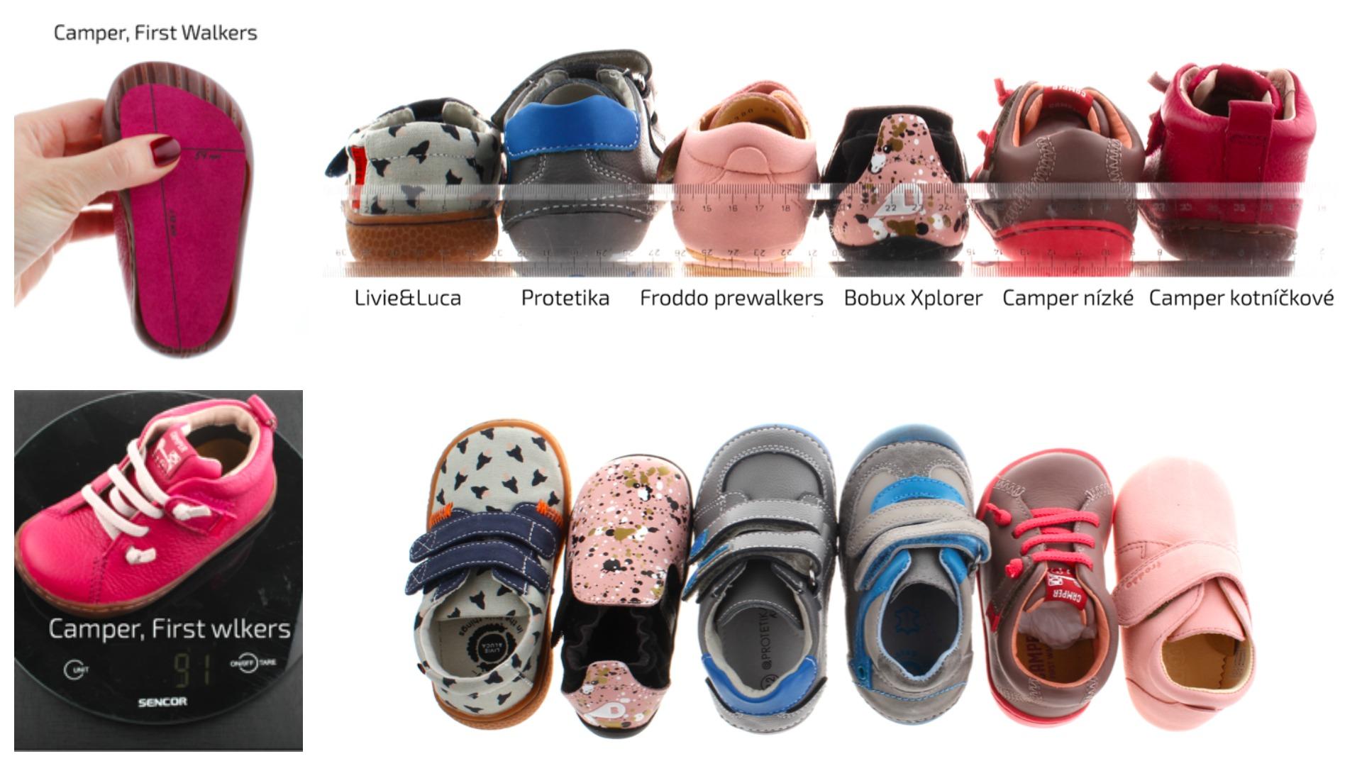 Jarní srovnávačka boty vel. 22