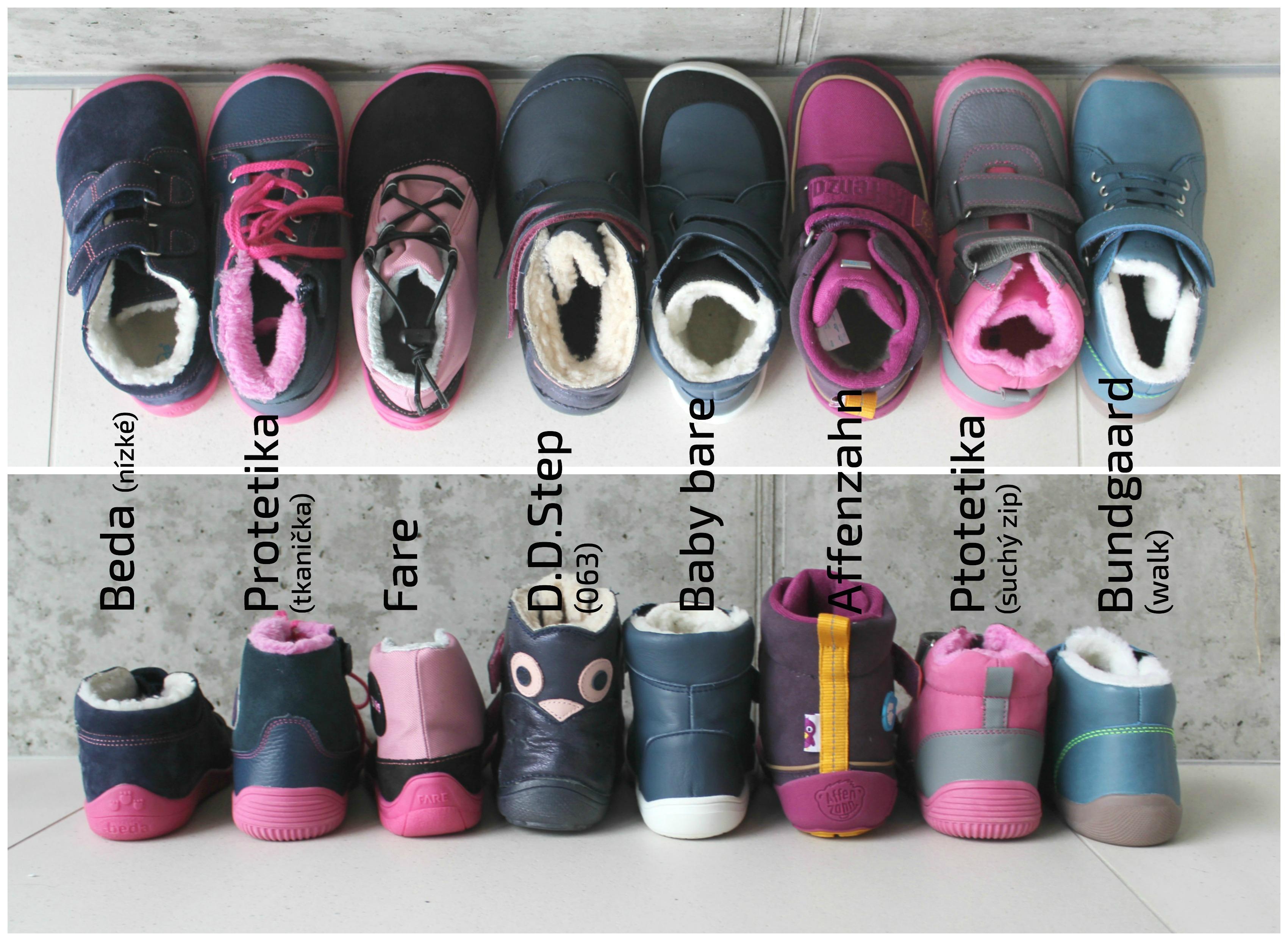 Zimní barefootová evoluce