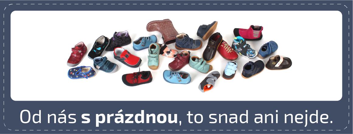 široký výběr barefoot bot