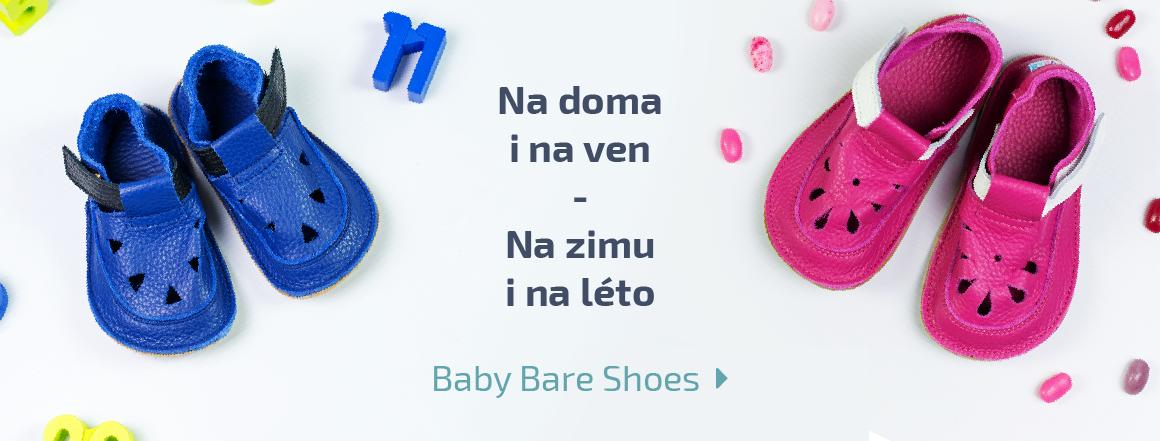 Baby bare shoes sandálky a bačkory