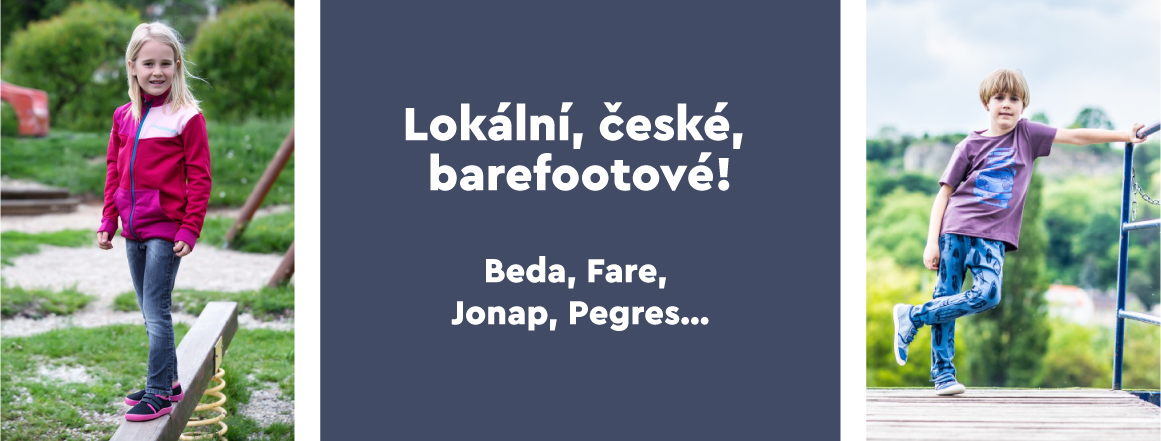 české bare boty