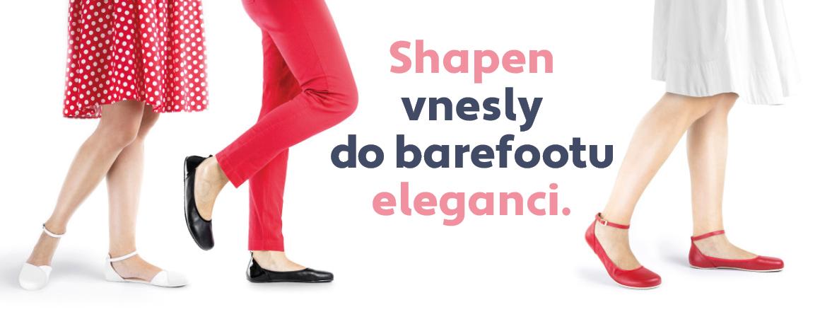 Shapen barefoot