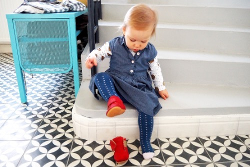 Rosa Mitnik Little Shoes Týnka