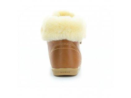 boty Bobux Desert Arctic Caramel (I walk, Kid+)