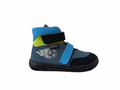 boty Jonap Jerry modro modrá