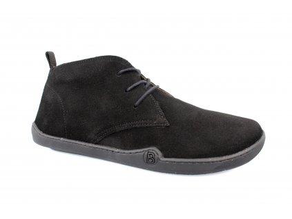boty bLIFESTYLE classicSTYLE  wool black