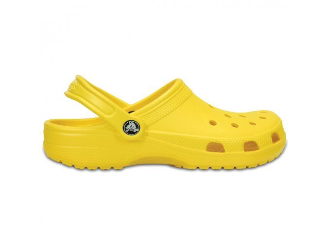 Crocs lemon