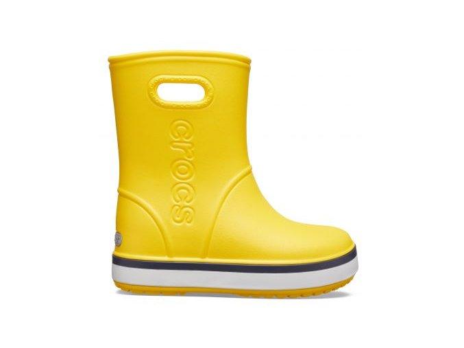Crocs Yeloow navy