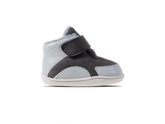 zimní barefoot boty pro začínající chodce