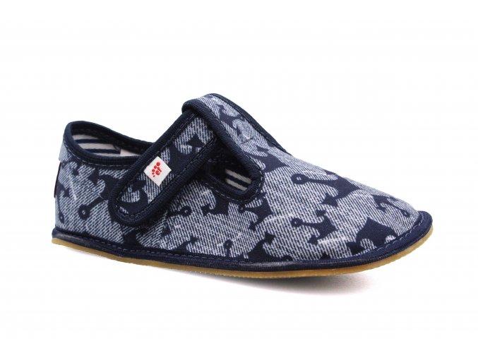 bačkory Ef Jeans Kotwica